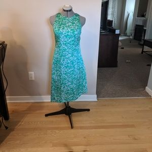 Banana Republic Satin Asymmetrical Midi, Size 4